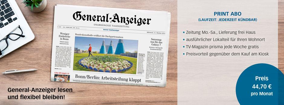 Das klassische Zeitungsangebot